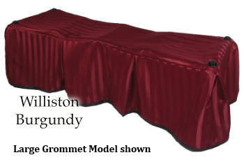 Church Truck Drape Williston Burgundy