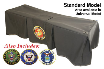 Church Truck Drape Service Black