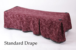 Church Truck Drape Bristol Burgundy
