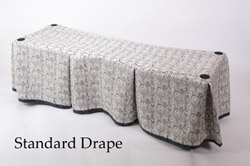Church Truck Drape Middleton Silver