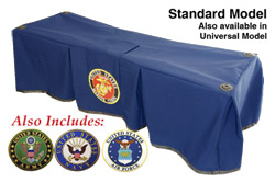 Church Truck Drape Service Navy