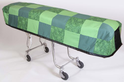 Cot Cover Hometown Green
