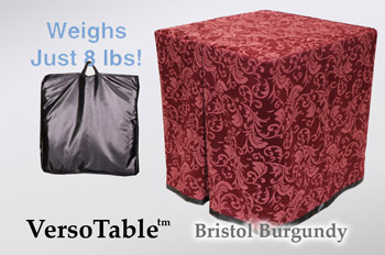 VersoTable Bristol Burgundy