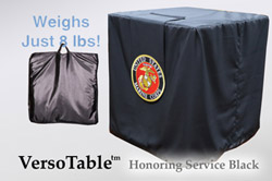 VersoTable Honoring Service Black