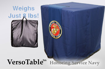 VersoTable Honoring Service Navy