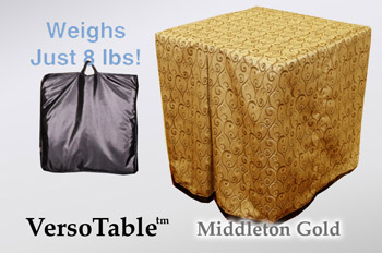 VersoTable Middleton Gold